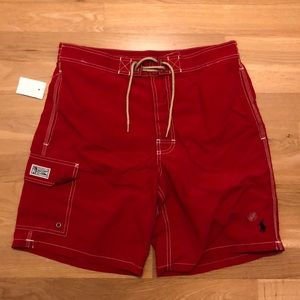 Red Polo Shorts